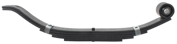 Slipper Spring - 72-43-1 - 5000 Lbs - 5 Leaf - 30 Inches Long - 3 Inches Wide - 1 Inch Eye Diameter
