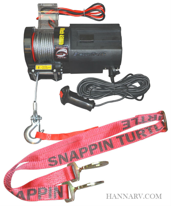 Snappin Turtle V4680 4500 LB Trailer Winch