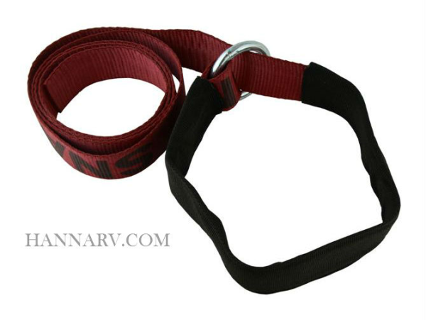Snappin Turtle V6500 8 Foot Wheel Lift Strap with Cordura Sleeve