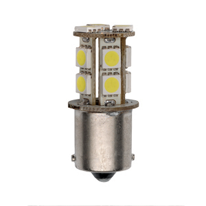 Star Lights Inc. 1156-170 Pack Of 2 Single Contact Bulbs - 3.2 Watts - 9-15 Volts - BA15s Base