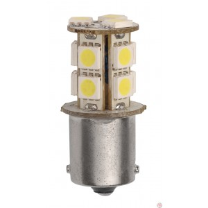 Star Lights Inc. 1157-170 Pack Of 2 Dual Contact Bulbs - 3.2 Watts - 9-15 Volts - BAY15D Base