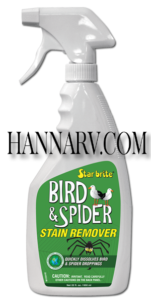 Starbrite 095122P Spider And Bird Stain Remover 22-oz. Trigger Sprayer