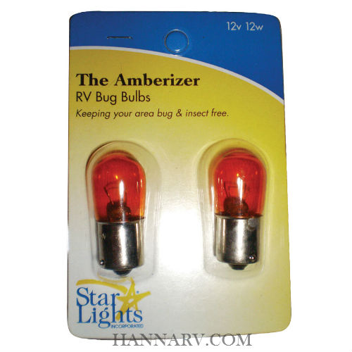 Starlights 016-AB10 Bug Light Bulb - Pack of 2