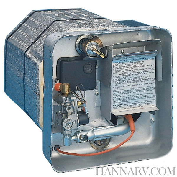 Suburban 5055A 6 Gallon Gas / Electric Pilot Water Heater with ...