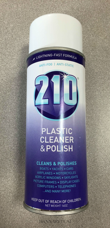 Sumner Laboratories 210 Plastic Cleaner Polish 14 oz Spray Can 40934