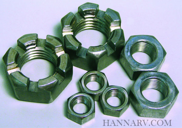 Suspension Nuts - 6-72 - 1-1/8 Inch-7 Hex Locknut for 10K-15K 7-170 Equalizer Bolt