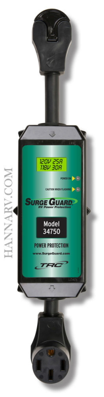TRC 34750 50 Amp Portable Surge Guard with LCD Display
