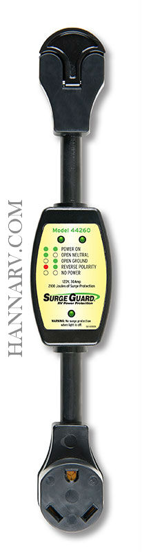 TRC 44260 30 Amp Portable Surge Guard Circuit Analyzer