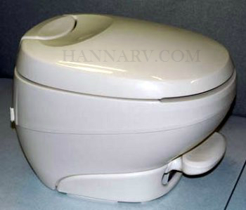 Thetford 31119 Bravura Toilet Low Profile Parchment Color