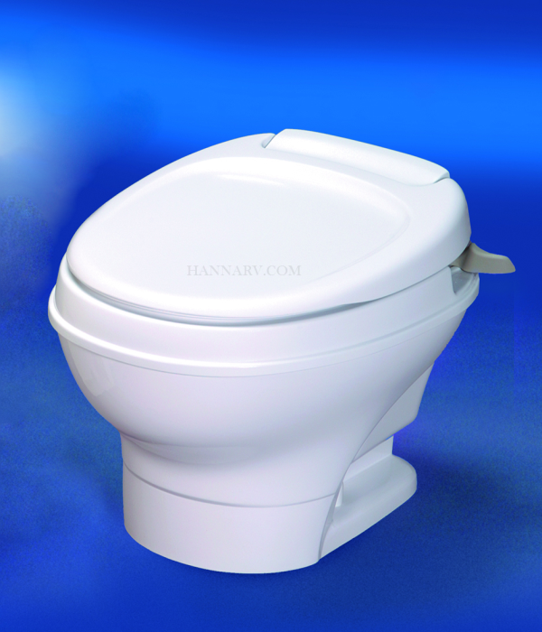 Thetford 31646 Aqua Magic V Toilet Low Profile With Hand Flush