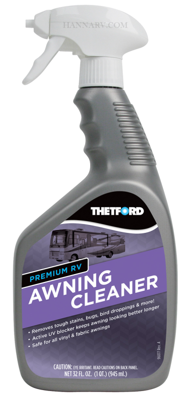Thetford 32518 Premium RV Awning Cleaner 32 Ounce Trigger Spray Bottle