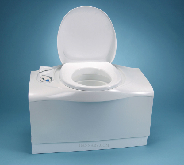 Thetford 32812 C402C Cassette Toilet w/ Electric Flush Left Hand Access