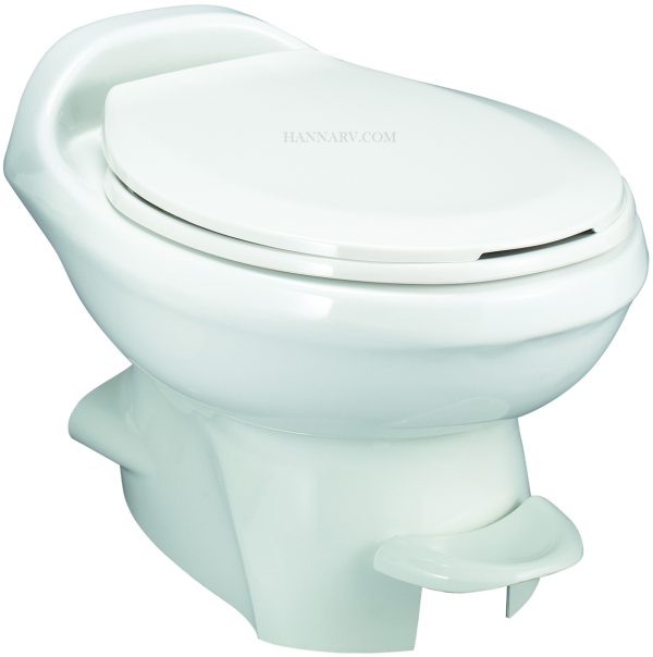 Thetford 34433 Aqua-Magic Style Plus Toilet Low Profile White Color