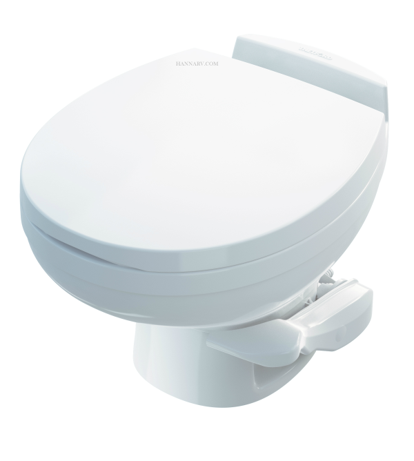 Thetford 42170 Aqua Magic Residence Low Profile RV Toilet - White Color