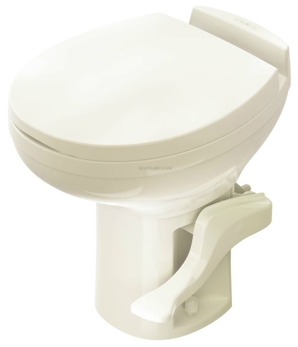 Thetford 42171 Aqua Magic Residence High Profile RV Toilet - Bone Color