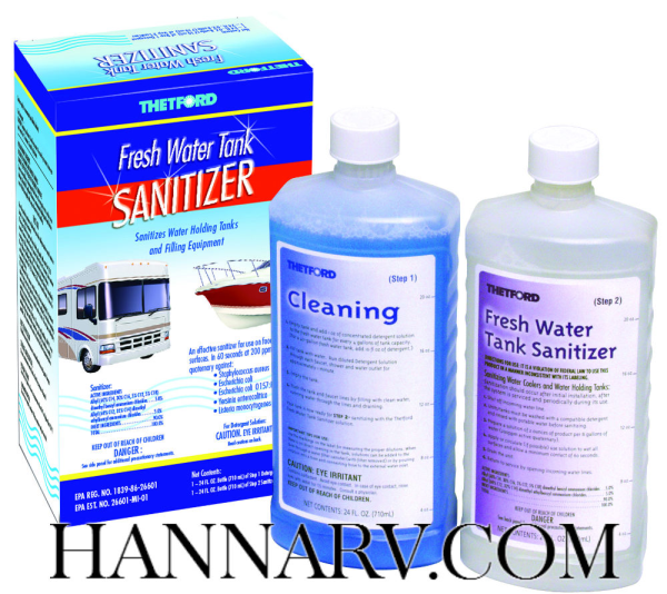 Thetford Corp 36662 RV Fresh Water Sanitizer Kit