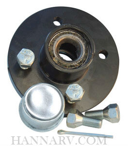 Tie Down Engineering 81050 4-Hole Bolt Hub Kit 1-inch - 1250 lbs.