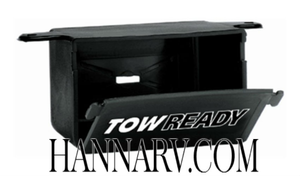 Tow Ready 118145 4-Flat Connector Storage Box Trailer RV Camper