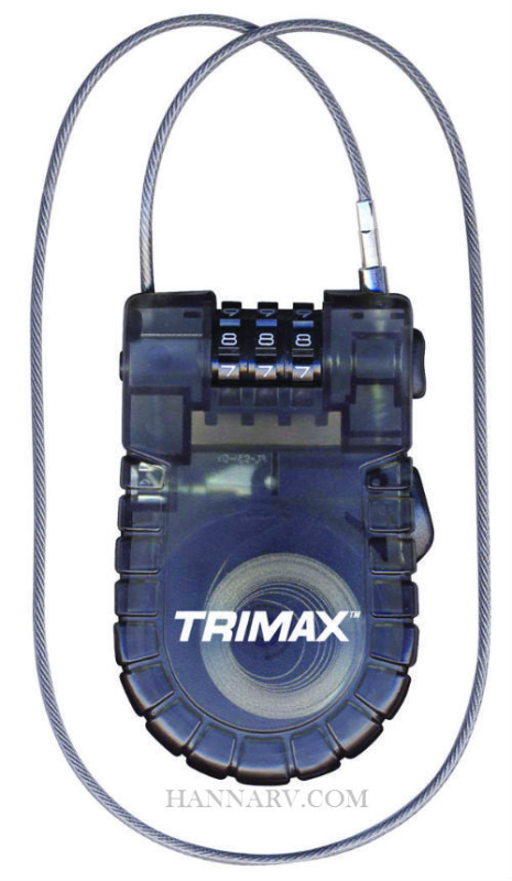Trimax T33RC Retractable Cable Lock