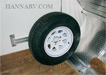 Triton 14190 Tc Series Trailer Spare Tire Carrier Kit