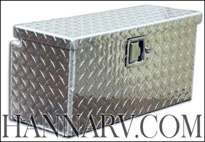 Triton 15531 1 Aluminum Diamond Plate Work Box With
