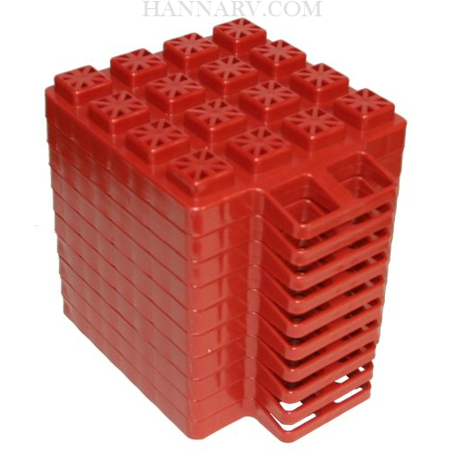 Valterra A10-0918 Stackers Leveler And Jack Pads 10 Pack