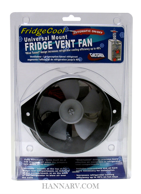 Valterra A10-2618VP FridgeCool Exhaust Fan