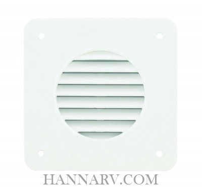 Valterra A10-3300 Battery Box Vent Louver - White