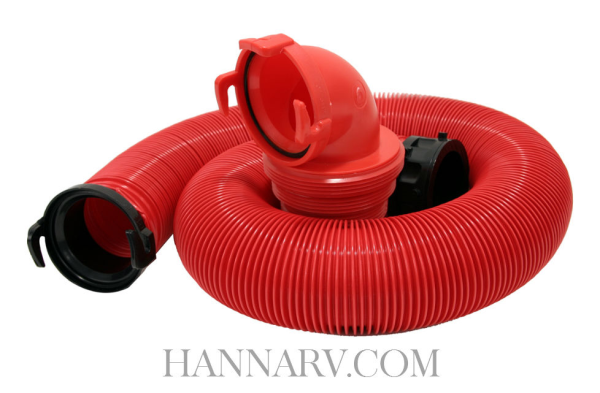 Valterra D04-0114 EZ Coupler 10 Foot Bayonet RV Sewer Hose Kit
