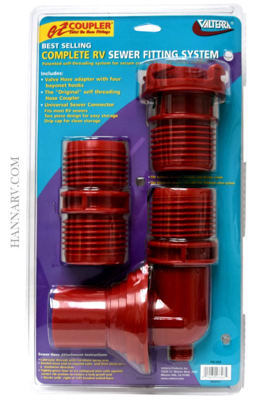 Valterra F02-3303 EZ Coupler 3-Piece System
