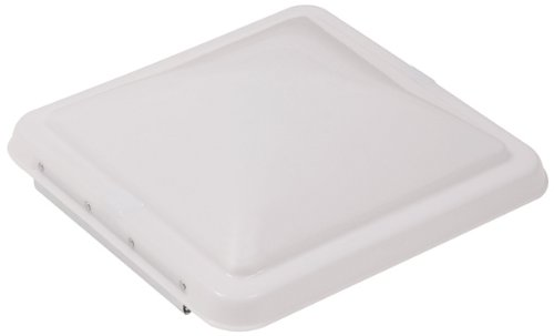 Ventmate 69278 RV Roof Vent Lid Cover for Ventline, Hengs and Elixir RV Vents - 14 Inch x 14 Inch - White
