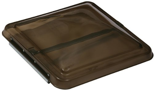 Ventmate 69279 RV Roof Vent Lid Cover for Ventile, Hengs and Elixir RV Vents - 14 Inch x 14 Inch - Smoke Color