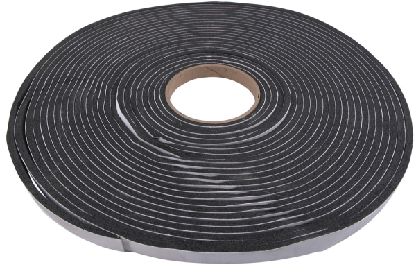 Weather Strip Tape - WS1812 - 100 Foot Roll - 1/8 Inch x 1/2 Inch Wide