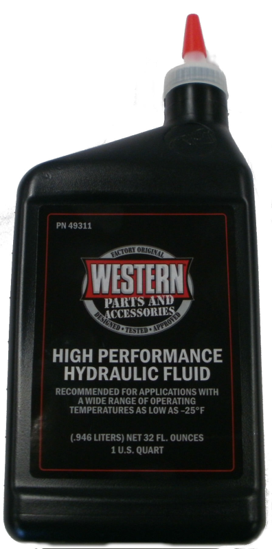 Western PN49311 High Performance Snowplow Hydraulic Fluid - Quart