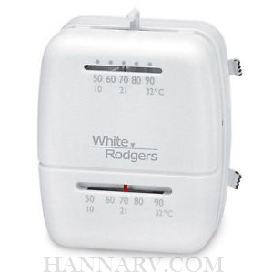 White Rodgers 1C26R-300 RV Heat/Cool Mechanical Thermostat