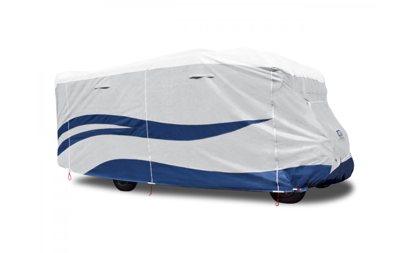 ADCO 94813 Designer Series UV Hydro Class C RV Cover - Fits 23 Foot 1 Inch to 26 Foot Trailers