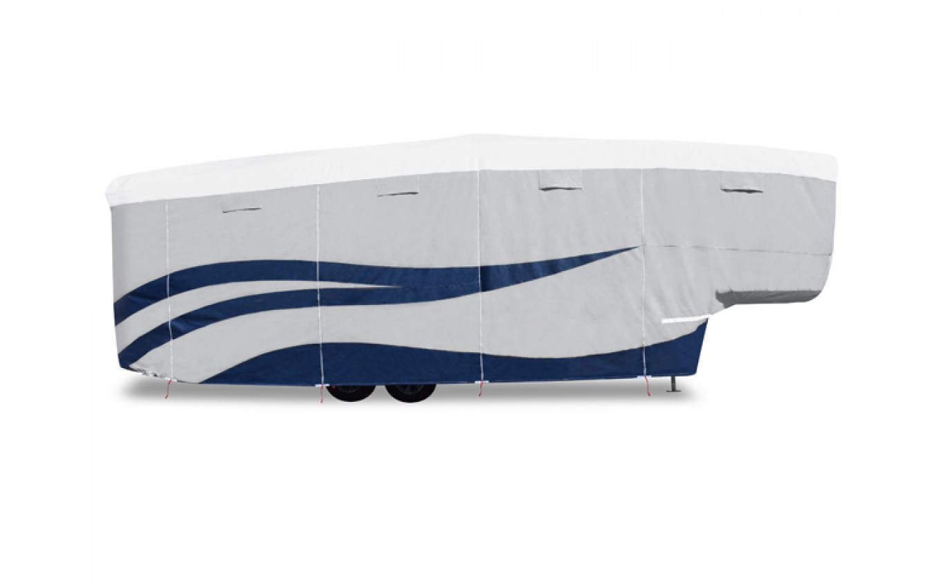 ADCO 94876 Designer Series UV Hydro Toy Hauler RV Cover - Fits 33 Foot 7 Inch to 37 Foot Trailers