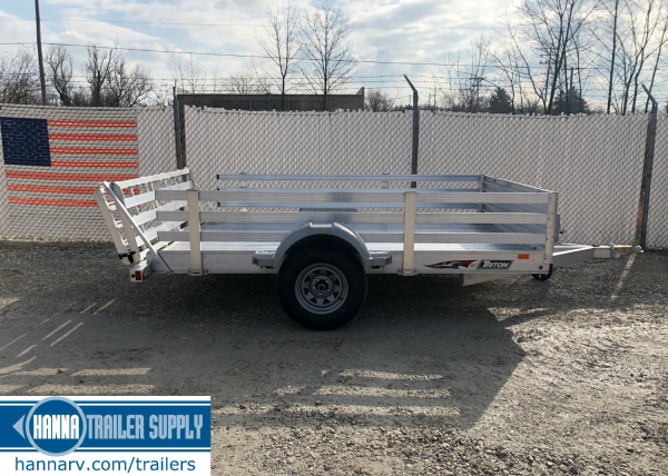 lawnmower trailer, trailer with ramp, woodside trailer