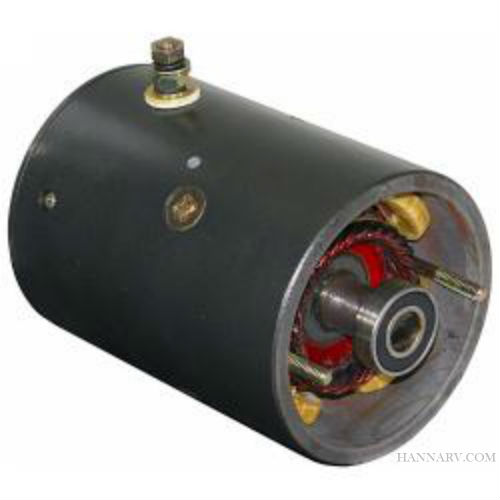Buyers 1304718 4-1/2 Inch Single Post Tang Shaft Snow Plow Motor - Replaces Boss OEM HYD1563