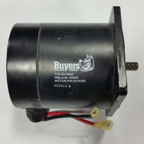 Buyers 3019085 SaltDogg SHPE Series Replacement Auger Motor - Replaces 3009995