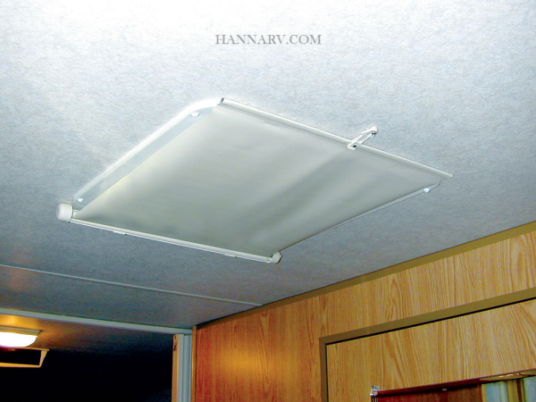 ... Camco 42913 Lights Out RV Retractable Vent Shade ...