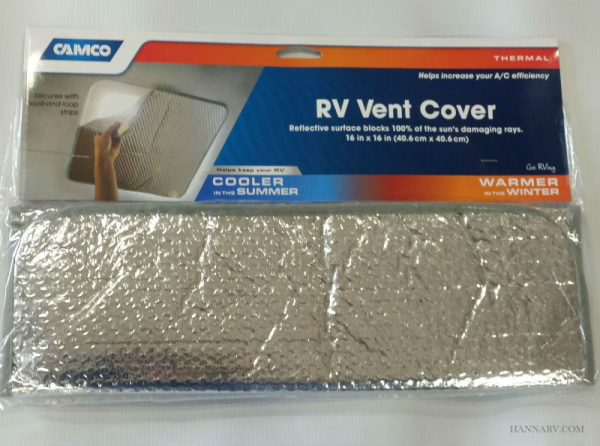 Camco 45191 Sunshield Rv Vent Cover Rv Roof Vents And Hatches Hanna Trailer Supply