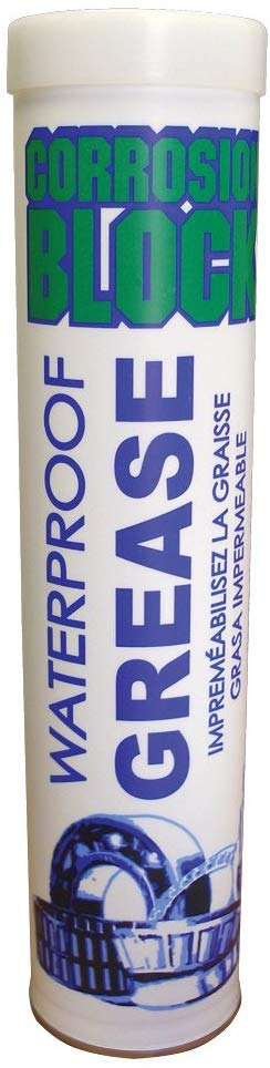 Corrosion Block CB14 Heavy Duty Water Resistant Grease Lubricant - 14 oz. Tube