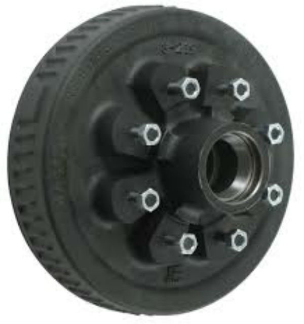 Dexter 8-219-4UC3 Standard Hub and Drum Assembly for 5,200 lb to 7,000 lb Axles - 8 on 6-1/2