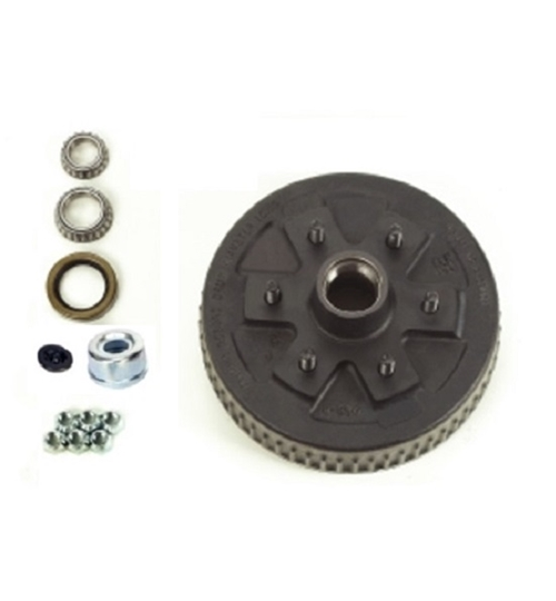 Dexter 84656UC3-EZ Complete Hub and Drum Assembly - 6 on 5-1/2 - L68149 Inner / L44649 Outer Bearings