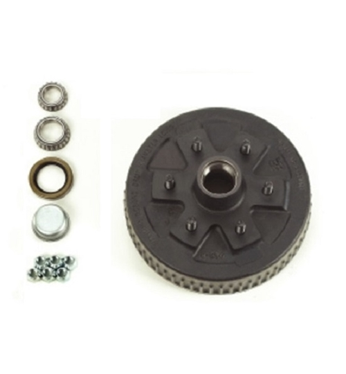 Dexter 84656UC3 Complete Hub and Drum Assembly - 6 on 5-1/2 - L68149 Inner / L44649 Outer Bearings