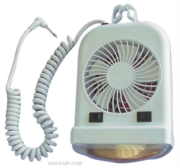 Fasteners Unlimited 001-103 12 Volt Fan & Bunk Light Combo for Pop-up Campers