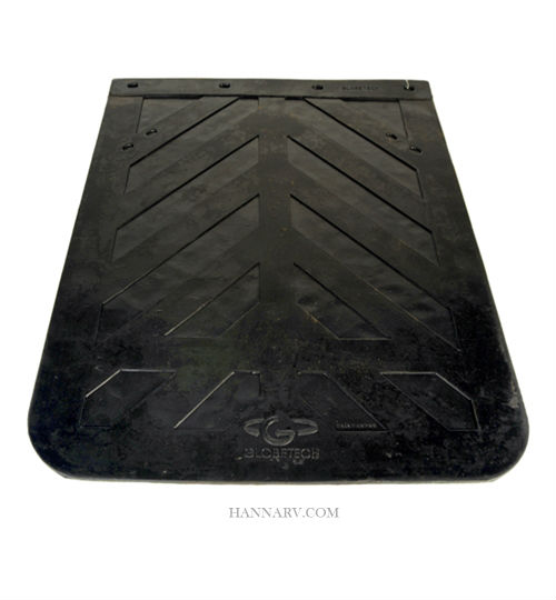 Globetech 2430MF Rubber Mud Flap - 1/4 Inch Thick x 24 Inches Wide x 30 Inches Long
