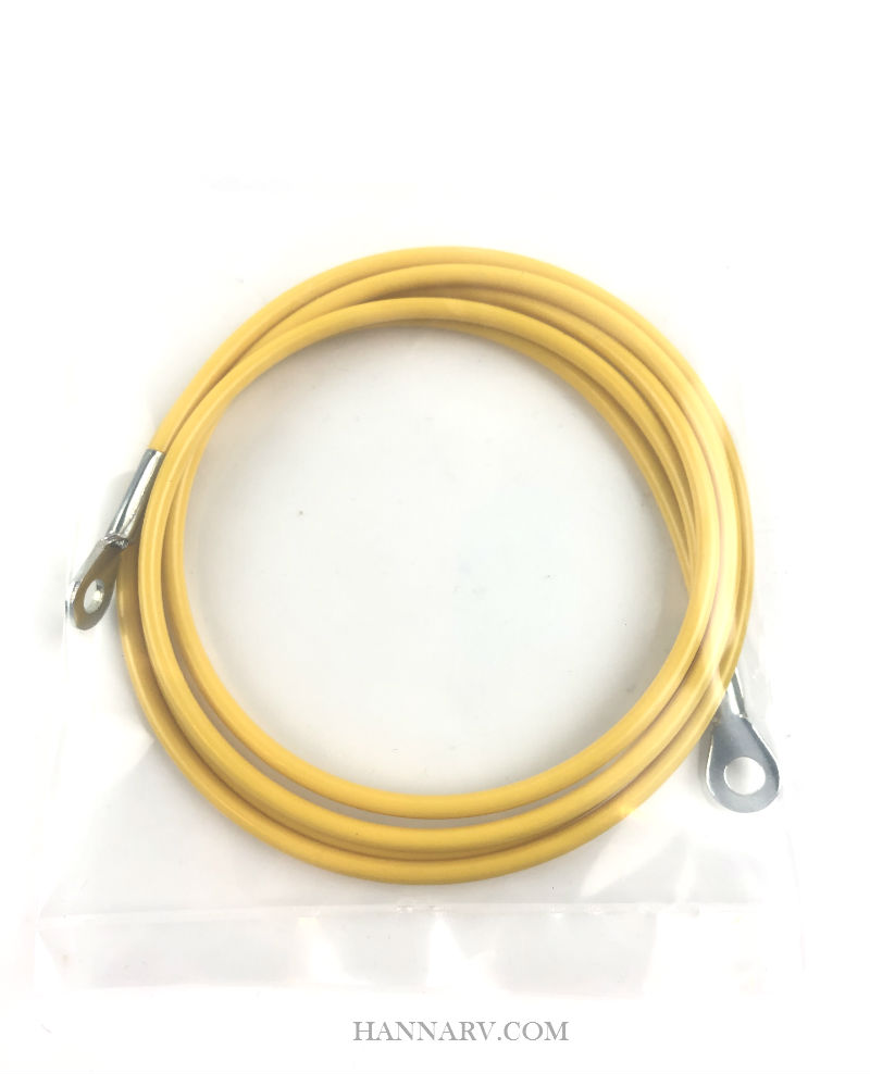 Goshen Lift System Pop Up Tent Trailer Roof Gauge Cable - Yellow - 48 Inch Length