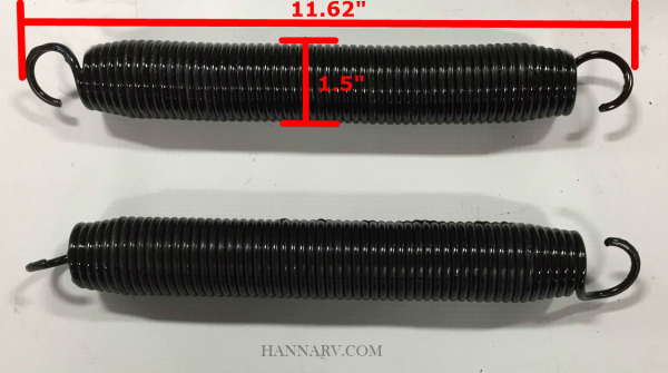 HWH R37135 Replacement Spring Kit for Hydraulic Leveling Jacks